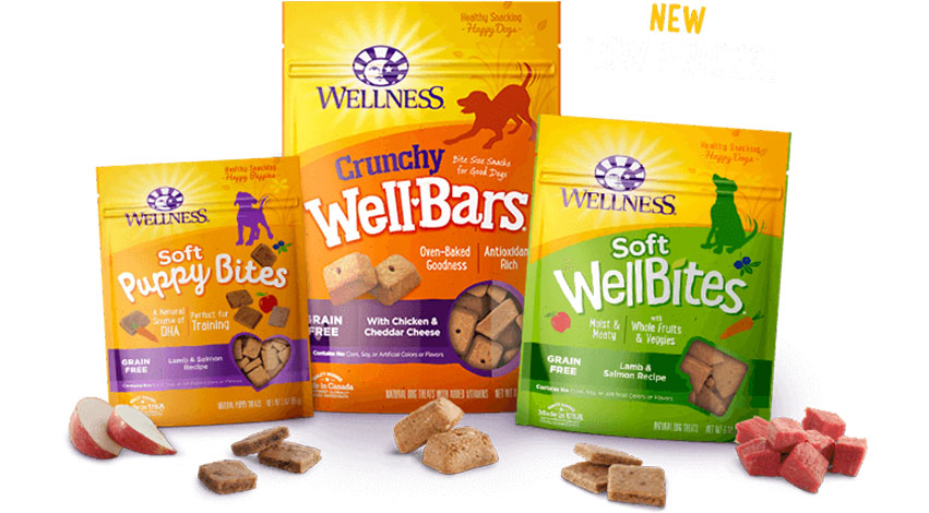 wellness - 3 Best Dog Treats for Training Puppies - Bully Sticks & Training Treats